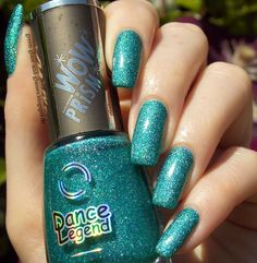 Green, Glaze & Glasses: Lacke in Farbe... und bunt! - Türkis (Dance Legend - Holy Diver)