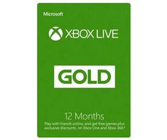 Xbox Live 24 Month Gold Card in 2019 | Products | Xbox live