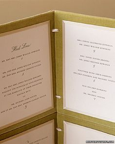 The Host Line  Start with the names of those issuing the invitation, traditionally the bride's parents