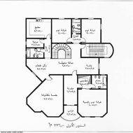 تصاميم فلل صغيرة سعودية Architecture Design Sketch Iron Gate Design House Floor Design