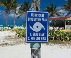 Evacuation plan ! lol