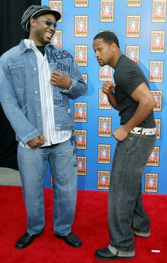 Will Smith and Lennox Lewis