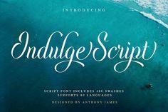 Indulge Script from FontBundles.net