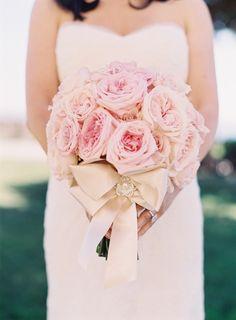 pink ombre seaside wedding photography