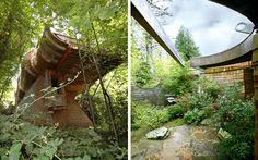 Wowsa: Organic Architect Oshatz's Wilkinson Treehouse