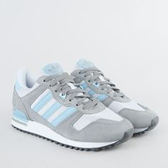 Sneakers // Adidas ZX 700 Dgh Solid Grey/Blush Blue/Ftwr White