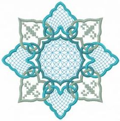 Decoration free wind embroidery design
