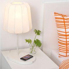 Voir les meubles et lampes avec chargement intégré