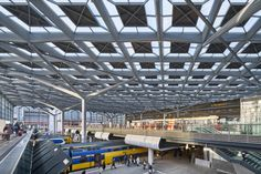 Completed in 2016 in Den Haag, The Netherlands. Images by Jannes Linders. The Hague Central Station has been transformed by Benthem Crouwel Architects into a light-filled, capacious, easy-to-read building where all public...