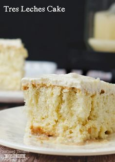 Deliciously easy to make: Tres Leches Cake Recipe - this looks delicious!!