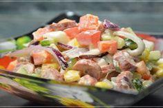 4 salate bune pentru orice masă de sărbătoare! Cu aceste rețete nu vei da greș niciodată. - Bucatarul Rainbow Salad, International Recipes, Food Photo, Pasta Salad, Food Inspiration, Salad Recipes, Potato Salad, Clean Eating, Food And Drink