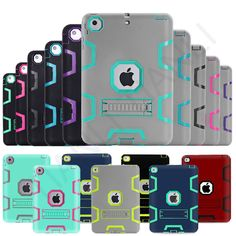 Survivor Shockproof Protect Military Heavy Duty Case Cover For iPad Mini / Air 2 #TIANLI
