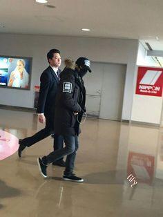 KHJ Arrived @ Niigata Airport 2/7/2015 Cr: As tagged