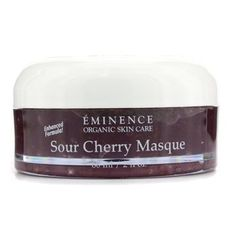 Sour Cherry Masque (Oily to Normal & Large Pored Skin) 60ml/2oz by Eminence Organic Skin Care. $45.59. This beauty product is 100% original.. A revitalizing & toning mask Formulated with Sour Cherry high in vitamin C for toning skin Blended with Honey to deliver non-greasy moisture Offers antioxidant protection against damaging free radicals Unveils a firmer refined invigorated & younger looking complexion Perfect for dehydrated large pored mature or dry skin