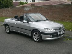 Peugeot 306 Cabriolet 18 #windscreen, #deflector, http://www.windblox.com