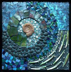 Gartenkunst 2018 Education Series – Society of American Mosaic Artists, Mosaic Artwork, Mosaic Wall Art, Mosaic Glass, Mosaic Tiles, Stained Glass, Glass Art, Blue Mosaic, Mosaic Crafts, Mosaic Projects