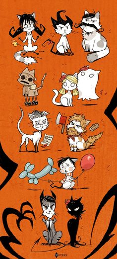 Don't Starve Cats look at the mine one :D