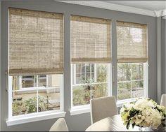 natural woven waterfall shades custom bamboo blinds and bamboo shades smithnoble