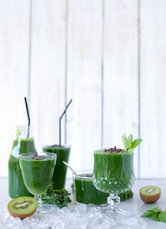 Try this Frisk godmorgen greenie recipe, or contribute your own. Juice Smoothie, Smoothie Drinks, Healthy Smoothies, Smoothie Recipes, Juice Recipes, Greenie Recipe, Frisk, Green Life, Herbalife