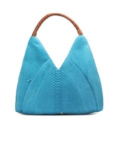 Obsessed with this crocodile and python Nancy Gonzalez tote bag!