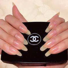 I will upload my right hand and left hand video.Nail art time from now Summer Acrylic Nails, Cute Acrylic Nails, Cute Nails, Pretty Nails, My Nails, Long Natural Nails, Exotic Nails, Strong Nails, Dream Nails