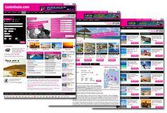 Website design for holidays.lastminute.com