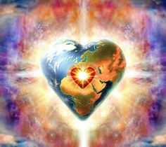 Mother Earth's Heart Chakra 7 Chakras, We Are The World, World Peace, Abraham Hicks, Louise Hay, Love And Light, Mother Earth, Law Of Attraction, Religion