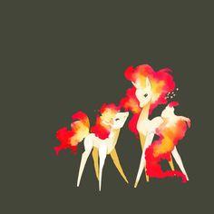 Ponyta and Rapidash: