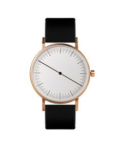 SIMPL WATCH // One collection - Ochre Black minimalist watches | minimalist | watch | watches | design | www.simplwatch.com
