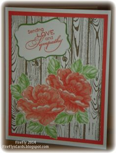 Stippled Blossom Sympathy by FireFly61 - Cards and Paper Crafts at Splitcoaststampers