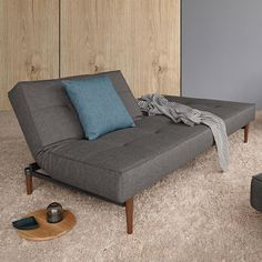 Innovation Living creates Danish design sofa beds for small living spaces. We strive to design manufacture design with focus on function and comfort that makes a difference in life. Small Space Living, Living Spaces, Living Room, Sofa Furniture, Furniture Design, Sofa Design, Interior Design, Minimalist Sofa, Houses