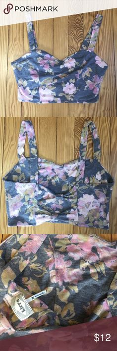 Floral bralette Floral bralette from PacSun. Size medium. PacSun Intimates & Sleepwear