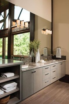 Suncadia Master Bathroom