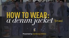 Introducing Styled 3 Ways: A series where I take one article of clothing and style it 3 distinct ways. This one features the denim jacket. Plus a bonus.
