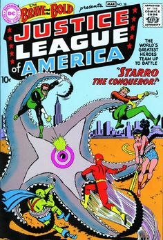 "The Brave and the Bold #28, ""Starro the Conqueror!"" (March 1960) 