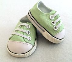 Doll Sneakers - 18 inch doll - Light Green - 15-16 Inch Doll - Doll Tennis Shoes - Doll Shoes - Green Doll Shoes - Girls Gifts - Girls Toys by Emmasdollshop on Etsy