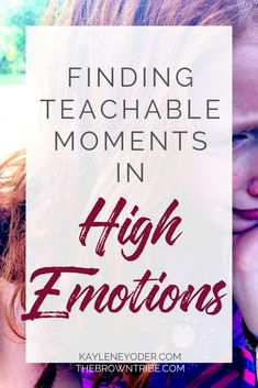 How do you help your daughter manage her emotions well? Discover how to use moments of high emotions as teachable moments to help your daughter grow in godly behavior. || Kaylene Yoder #raisiinggirls #parenting #parentingtips #chrisitanparenting Christian Kids, Christian Families, Christian Living, Christian Faith, Sample Prayer, Family Scripture, Mom Prayers, Free Bible Study, Prayer For You