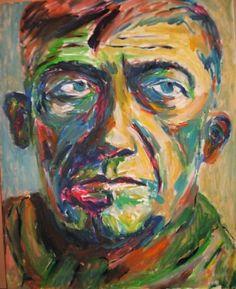 Selfportrait by Oscar kokoschka