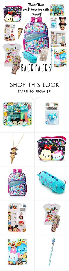 """Tsum-Tsum, BTS Backpack Contest"" by theluckykricket ❤ liked on Polyvore featuring interior, interiors, interior design, home, home decor, interior decorating, Disney, George, Casetify and backpacks"