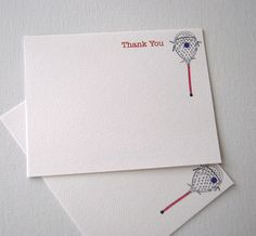Goalie Stick Lacrosse Thank You Note Cards Coach Player Cards by HappenstancePaper on Etsy https://www.etsy.com/listing/94397854/goalie-stick-lacrosse-thank-you-note