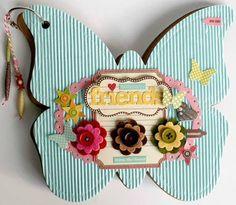 mini album friends (butterfly)