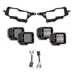 Rigid Industries 2014-2016 Polaris RZR Headlight Kit