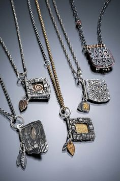 Little Delights: Book Lockets and Hinged Boxes Master Class in PMC Silver with Celie Fago