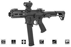 G&G CM16 ARP9 CQB AEG Carbine Airsoft Gun Battery Charger Package ( Black )