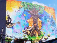 arbol-Arte Urbano en el mundo
