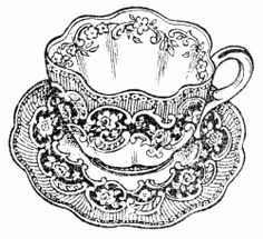 Sweetly Scrapped: Free Teacups Clipart and Digi Printables