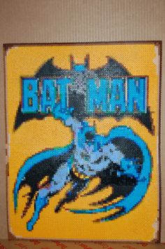 batman perler bead art made by me - amanda wasend