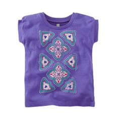 Harbor Tile Graphic Print T Shirt for Girls   Tea Collection