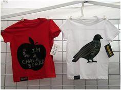Chalkboard Tees Renegade Craft Fair Chicago, 2008 #Classic #Pigeon #BigApple @RenegadeCraft