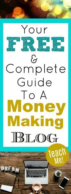 Don't think you need to pay for some expensive course to understand how to create a profitable blog. In this 5,000+ word post, I detail just about everything you need to know to start making money! Make Money Blogging | Money-Making Blog | Side Hustle | Make Money From Home | Work From Home via @MadMoneyMonster